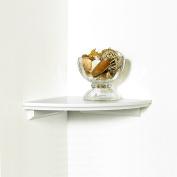 InPlace Shelving 0199020 25cm by 25cm Corner Shelf Kit, White