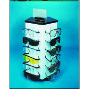 Mutual Industries 50025 Lg Eyewear Display W/Glasses