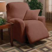 Madison Home Stretch Microfleece Box Cushion Recliner Slipcover