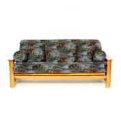 Lifestyle Covers Salmon Creek Box Cushion Futon Slipcover