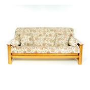 Lifestyle Covers Lacey Box Cushion Futon Slipcover