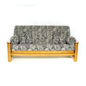 Lifestyle Covers Safari Box Cushion Futon Slipcover