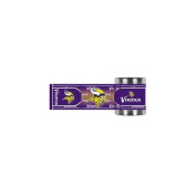 Great American Products GAP-CZWM2010 Minnesota Vikings NFL Stainless Steel Can Holder with Hi-Def Metallic Graphics