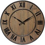 Infinity Instruments 60cm Wine Barrel Wall Clock