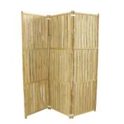 ZEW Inc 180cm H x 150cm W 3 Panel Room Divider