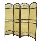 D-Art Collection 180cm x 150cm 4 Panel Room Divider