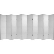 Oriental Furniture 180cm Do It Yourself Canvas 10 Panel Room Divider