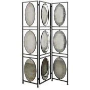 A & B Home Group, Inc 190cm x 120cm 3 Panel Room Divider