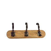 Urban Trends Small Wooden Wall Hook