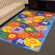 DonnieAnn Company Paradise Multi Alphabets Balloon Rug