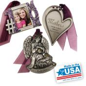 Gloria Duchin 3pc Mother Ornament Set