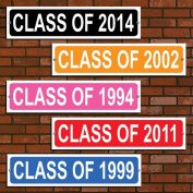 Personalised Class of Colourful Street Sign