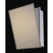Ketcham Medicine Cabinets Accessible Series 41cm x 80cm Recessed Medicine Cabinet