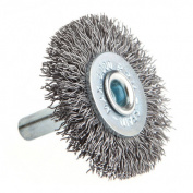 Forney 60013 Wheel Brush Coarse Wire with 0.6cm Shank 3.8cm