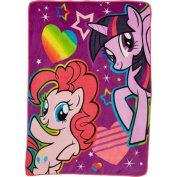 My Little Pony Follow the Rainbow 120cm x 150cm Micro Raschel Throw