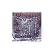 Blueberrie Kids Chandler Ruffled Pillow