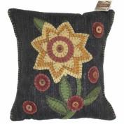 Homespice Decor 212245 Pillows 12x12 Button Blooms Pillow