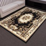 DonnieAnn Company TajMahal Black Oriental Rug