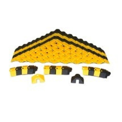 UltraTech 1820 Ultra-Sidewinder 7.3m System with Endcaps Black And Yellow