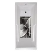 No Slip Mat by Versatraction 14 x 27 Dolsen Twirl Bath Mat