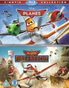 Planes/Planes: Fire and Rescue [Region B] [Blu-ray]