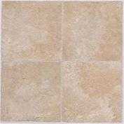 Winton Tile 842175 Floor Tile No Wax Self Stick 30cm X 30cm Beige