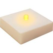 LumaBase Luminarias LED Battery-Operated LumaLite, Amber, 6-Count