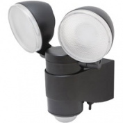 Maxsa Innovations Dual Head Battery-Powered LED Security Spotlight