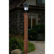 New England Arbours Trinity Composite Lamp Post