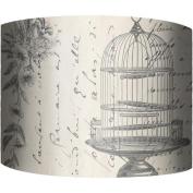 30cm Drum Lamp Shade, Bird Cage