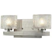 Z-Lite 3027-2V Rai 2 Light Vanity Light, Brushed Nickel