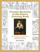 Twenty Mysteries of the Rosary Coloring Book