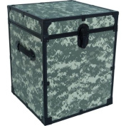 Mercury Luggage Seward Trunk 50cm Footlocker, Camo