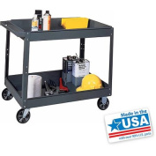 Edsal Industrial Grey Commercial Service Cart, SC2024