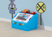 Step 2 Thomas the Tank Engine 2-in-1 Toy Box and Art Lid