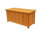 Leisure Season Deck Storage Box, Medium Brown