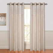 Somerset Home Karla Laser-Cut Grommet Curtain Panel