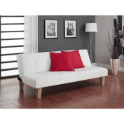 Aria Futon Sofa Bed, White
