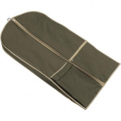 Olive Garment Suit Bag with Shoulder Strap