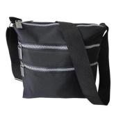 Premium Connexion 290-CBMF Roberto Amee Microfiber Cross Body Bag