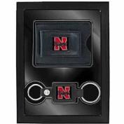 Aminco 2-Piece Leather Valet Gift Set, Nebraska