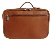 Cosmetic Utility Kit in Saddle Leather