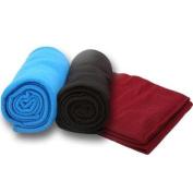Premium Connexion 250-BKAPB TrailWorthy All Purpose Fleece Blanket - Case of 16