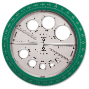 Helix Angle and Circle Protractor 36002