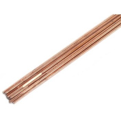 Forney 42326 Copper Coated Brazing Rod 0.2cm -by-46cm 10-Rods