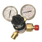 Gentec Flow Gauge Regulators - gw 33-190cd-45 & mig meter8 c02 cga320