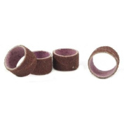 Forney 60244 Sanding Sleeves 1.9cm by 1.3cm Coarse Grit 4 Piece