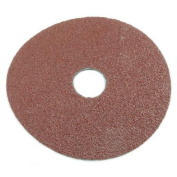 Forney Industries 71669 Circular Shape Sanding Disc, 4-1/2 in, 50 Grit, 7/8 in Arbour