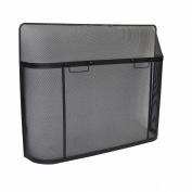 Pleasant Hearth Fireplace Screen Guard, Black