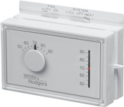 White-Rodgers 1F56N-444 Universal Horizontal Heat/Cool Mechanical Thermostat